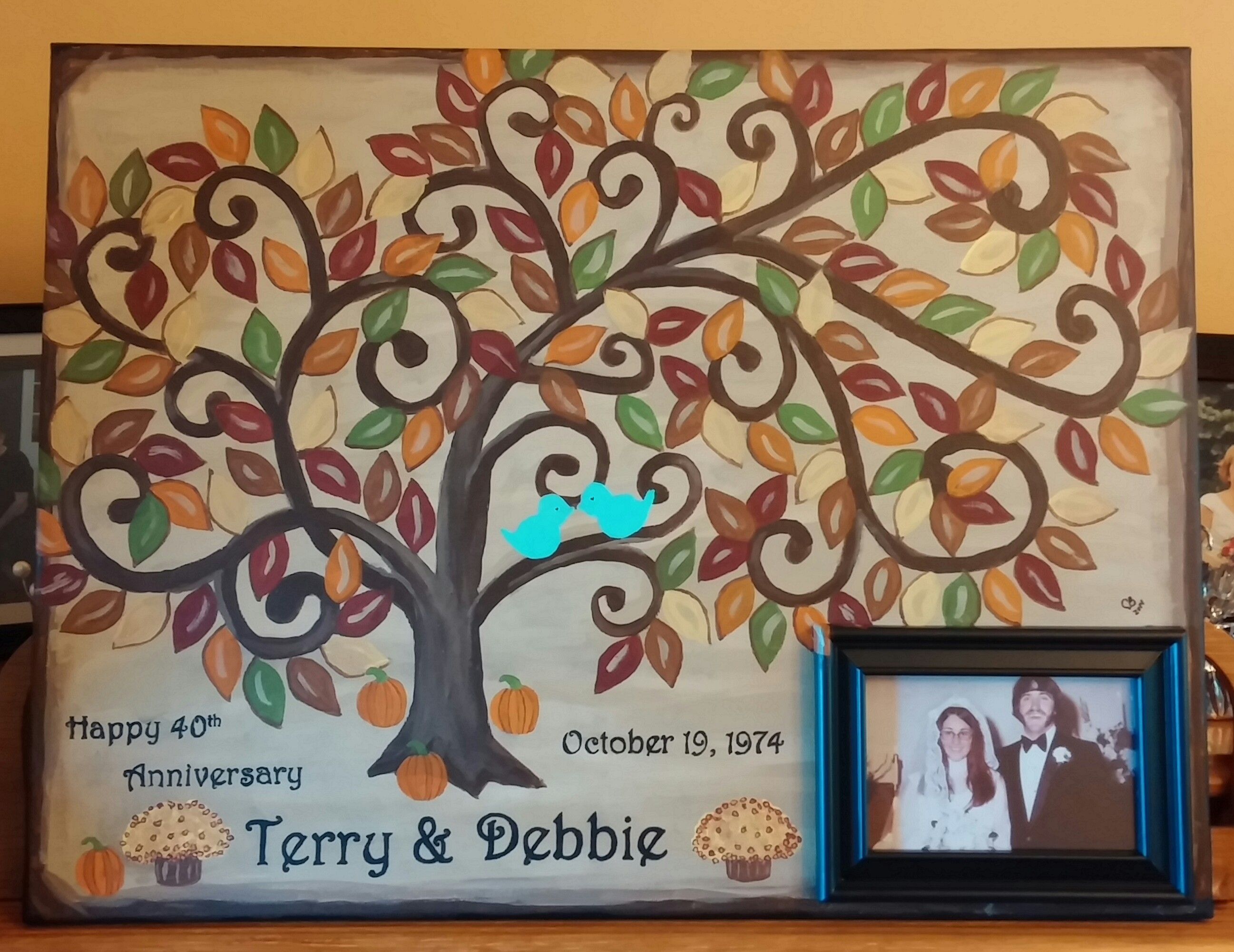 Guest Sign-In Tree with Picture